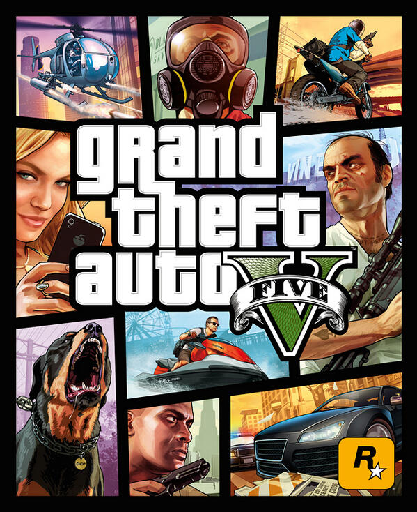Grand Theft Auto - Box Art