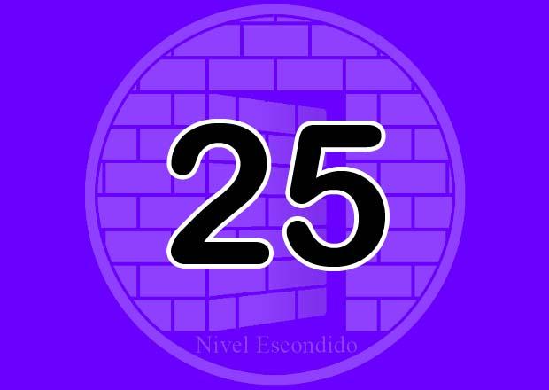 Nivel Escondido 025