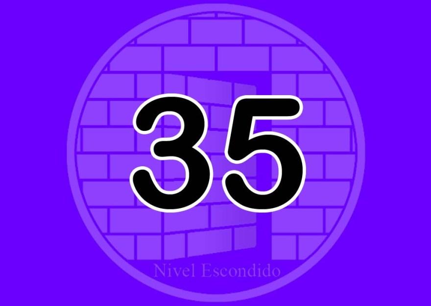 Nivel Escondido 035