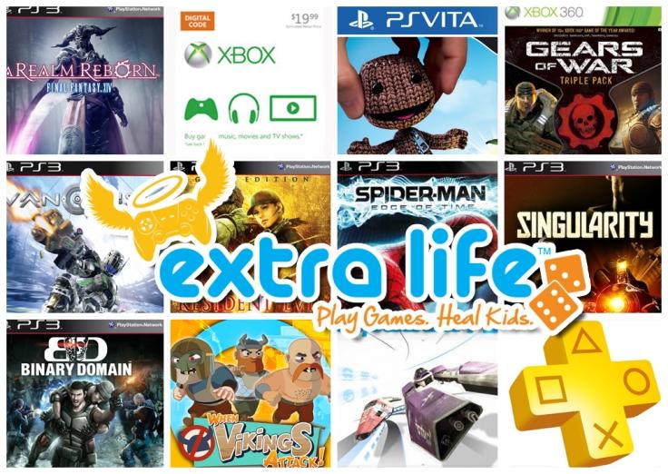 Extra Life 2013 - Sorteo