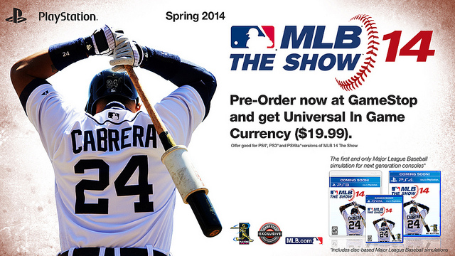 MLB 14 The Show - Teaser