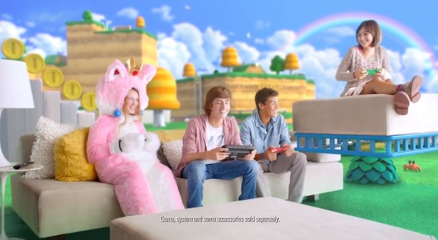 Super Mario 3D World - Play Together TV Commercial