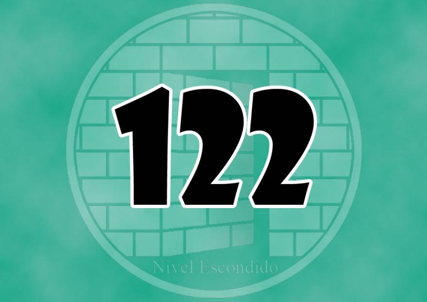 Nivel Escondido 122