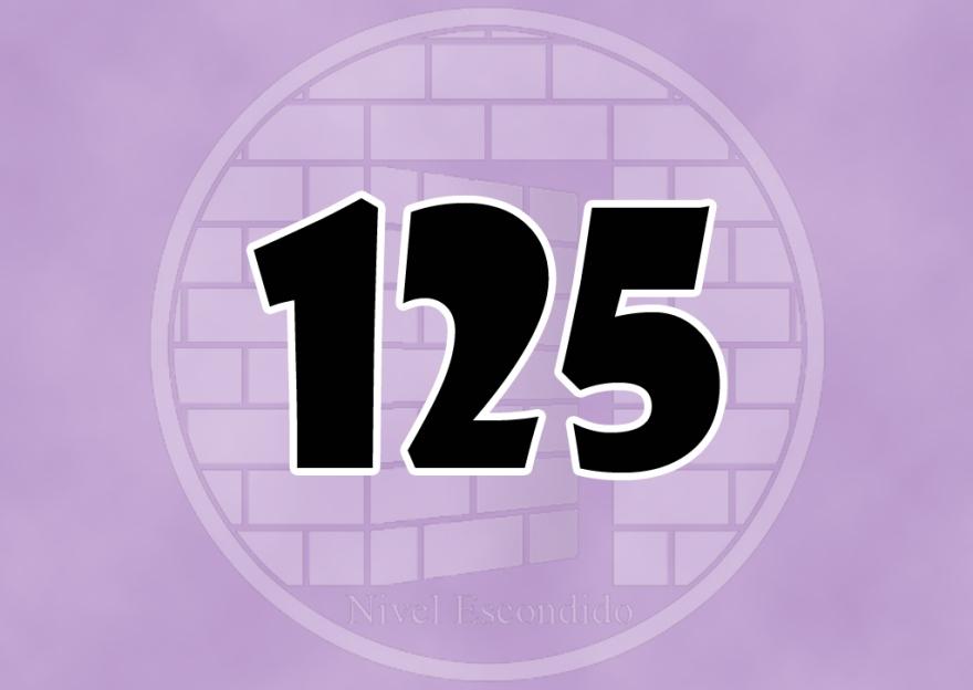 Nivel Escondido 125