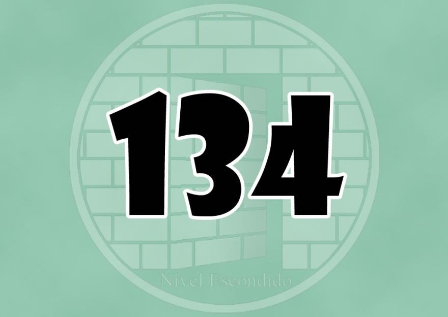 Nivel Escondido 134