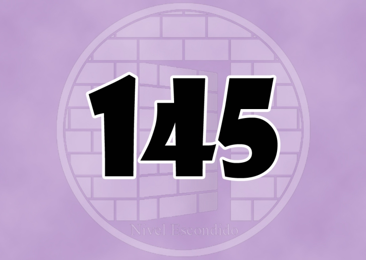 Nivel Escondido 145