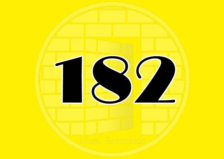 Nivel Escondido 182