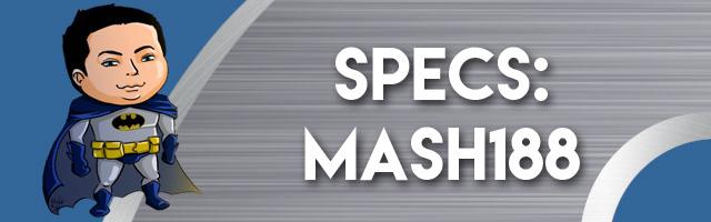 panel - specs - mash188